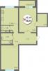 Продажа 2 к квартиры 68 кв.м. от застройщика,ул.9-я Тихая маленькая