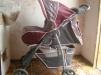 Прогулочная коляска со столиком, ходунки, кенгуру, стульчик для купания маленькая