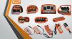Пульт радиоуправления на манипулятор Palfinger, Unic, Fassi, Tadano, Velmash и т.д маленькая