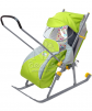 Санки - коляска НД3 Ника детям-3 маленькая