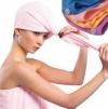 Шапочки-Полотенце для сушки волос из микроволокна маленькая