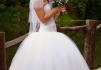 Шикарное свадебное платье 40-46 р-р продам маленькая