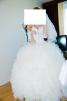 Шикарное свадебное платье маленькая