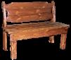 Скамейка под старину Добряк маленькая