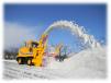 Снегоуборочная машина Nichijo HTR306 маленькая
