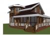 Строительство домов из брус и каркаса маленькая