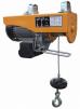 Мини-Таль электрическая тип МЕН, Комбинированная (Чехия)  г/п 125кг/250 кг, высота подъема 12м/6м маленькая