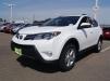 Toyota RAV4 2013 год (белый) маленькая