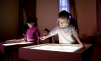 Цветной кварцевый песок,  для детского творчества маленькая
