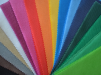 Цветной спанбонд, пленка ПВХ и ПВД маленькая