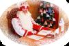 В гости к Дедушке Морозу маленькая