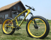 Велосипед Love Freedom Z-610 (Золотой) + Подарок маленькая