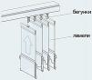 Вертикальные тканевые жалюзи маленькая