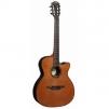 Электроакустическая гитара LAG GLA TN300A14CE маленькая
