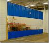 Защитные ПВХ шторы маленькая