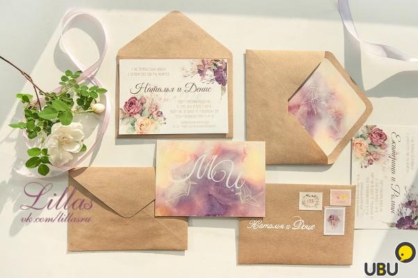 Пригласительные на заказ на свадьбу москва
