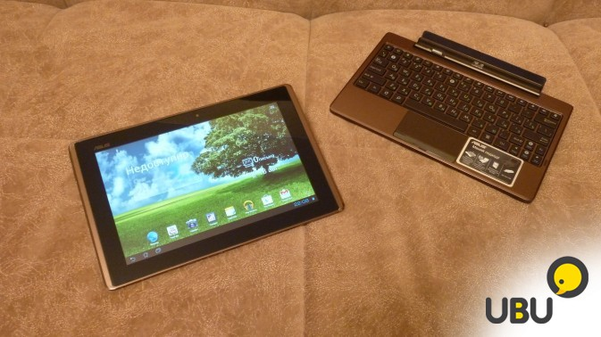 Asus Eee Pad Transformer TF101 16Gb + dock + чехол