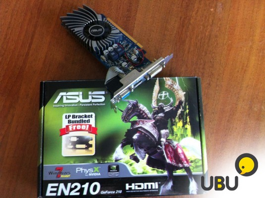 Asus EN210 GeForce (hdmi)