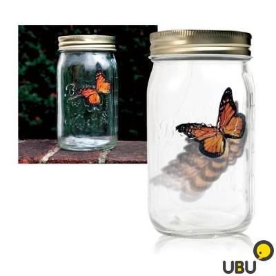 Электронная бабочка в банке заказать с подсветкой