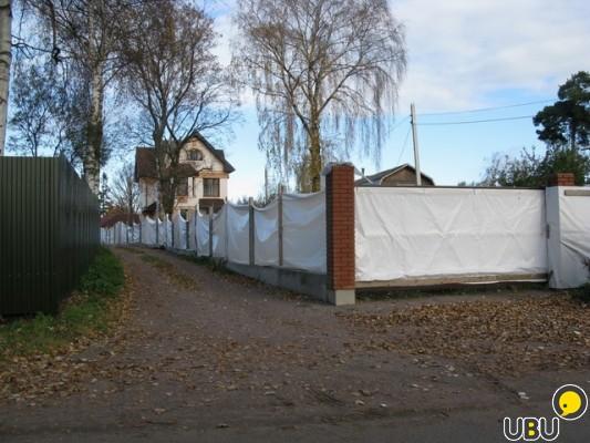 Чем закрыть некрасивый забор