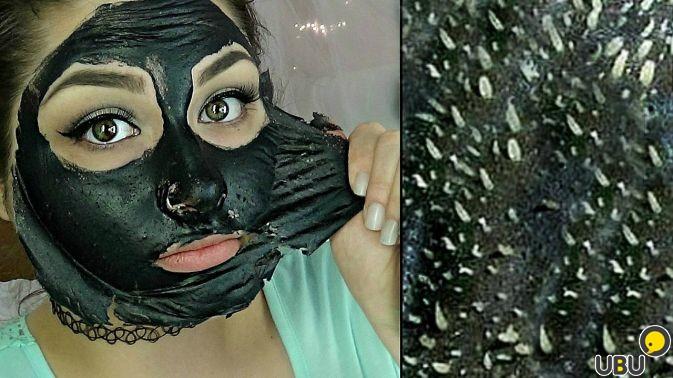 Как сделать дома маску черную