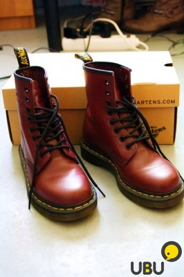 Dr. Martens 1460 Cherry Red Smooth фото 3