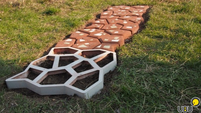 Тротуарные плитки для дачи своими руками