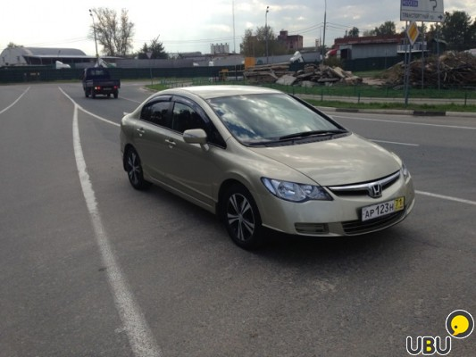 Honda civic 2008 MT фото 1