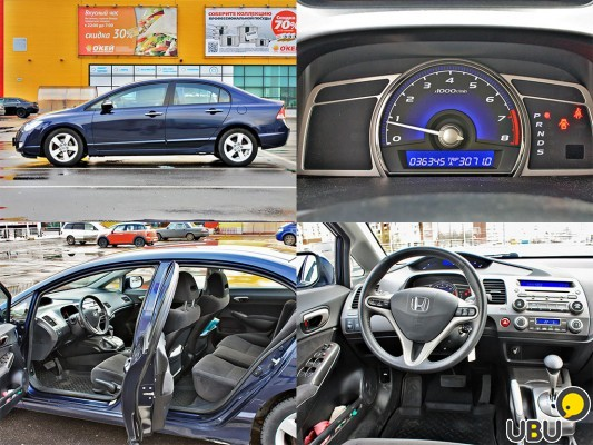 Honda civic 4D 2008 AT фото 1