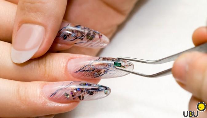 Как сделать маникюр нарощенных ногтей