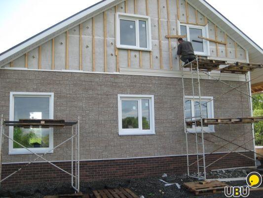 Обделать дом своими руками 34