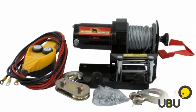 Лебедка HorseWinch ATV2000 12V 900кг