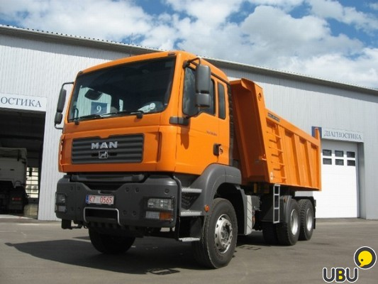 MAN TGS 33.360 6x4 BB-WW