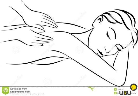 Чёрно-белые картинки массаж
