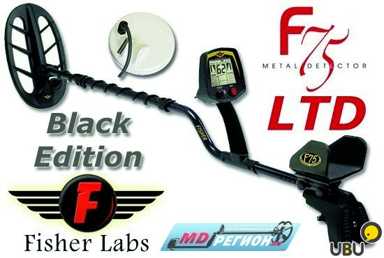 Металлоискатель Fisher F75 Special Edition Black