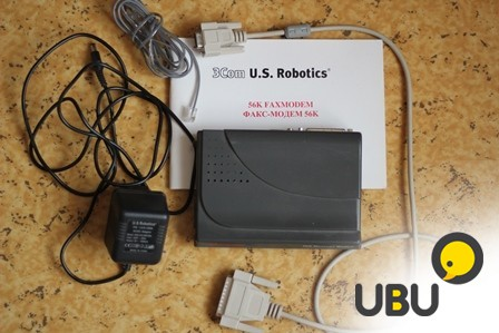 Модем USRobotics 56K Message Modem + подарки фото 1