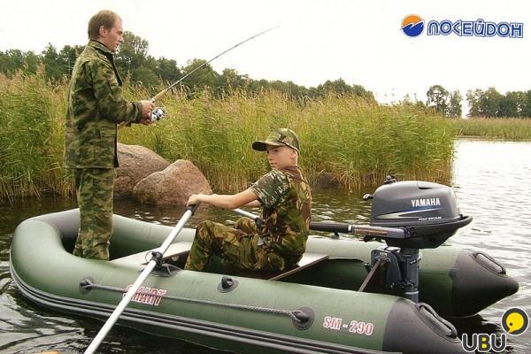 лодки пвх для рыбалки и охоты captain