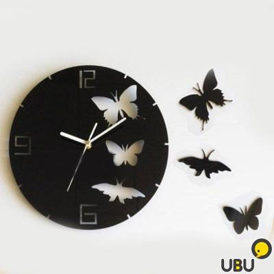Как сделать часы бабочки