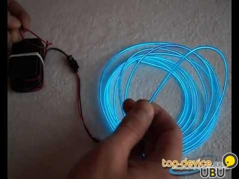 Как сделать своими руками гибкий неон