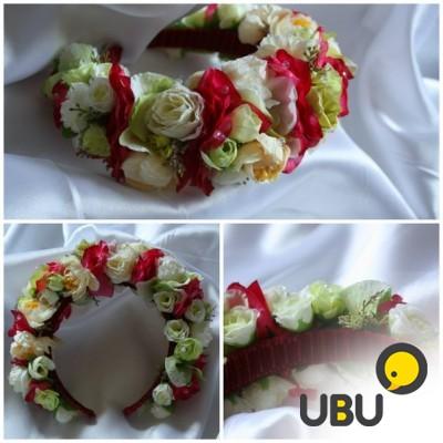Фото ободков с цветами своими руками