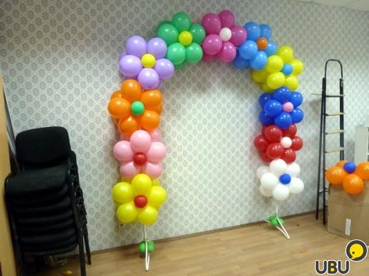 Как сделать арку из шаров своими руками