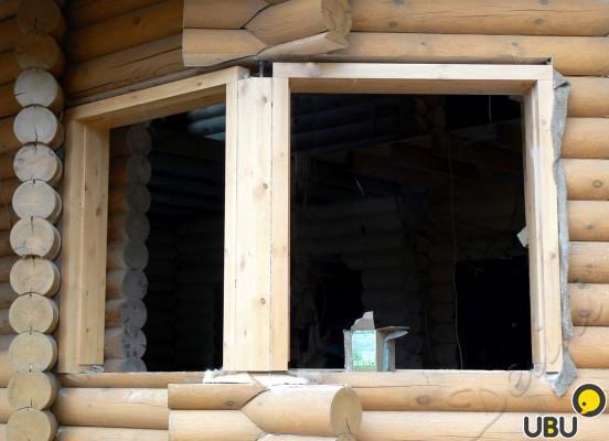 Окосячка окна как сделать