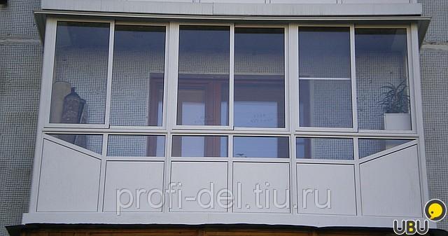 Балкон аллюминиего профиля. - остекление лоджий - каталог ст.