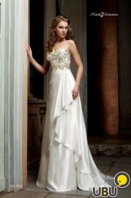 Продам шикарное свадебное платье Монэ от Наталии Романовой. Сургут. Показать на карте. Продавец