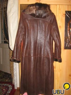 Продаю дубленку , коричневую в Омске, объявление 2838268