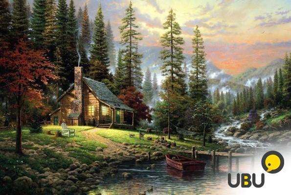 Рисуем дом по фото