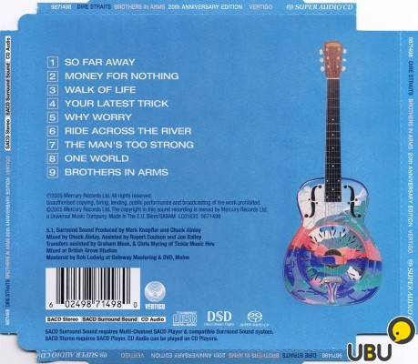 Dire straits brothers in arms single