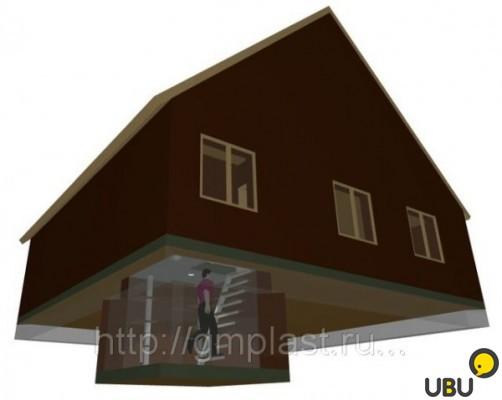 Как сделать полуподвал под домом