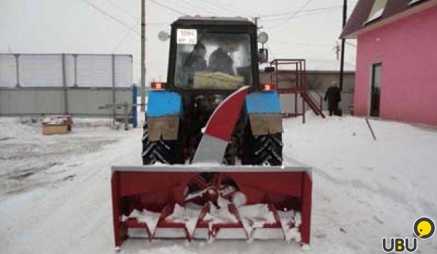 Роторный снегоуборщик для мтз