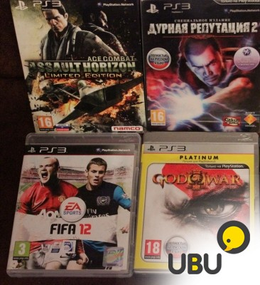 Sony PlayStation 3 Slim 320Gb +4игры фото 1